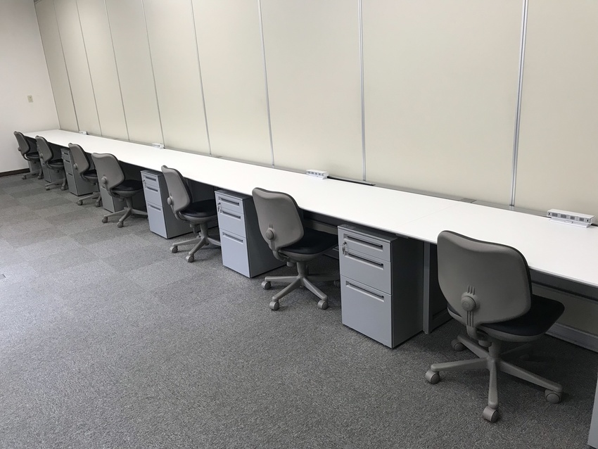 人員増員に伴う新規オフィスエリアの増築