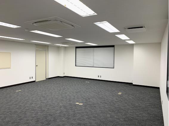 会議室間仕切りbefore