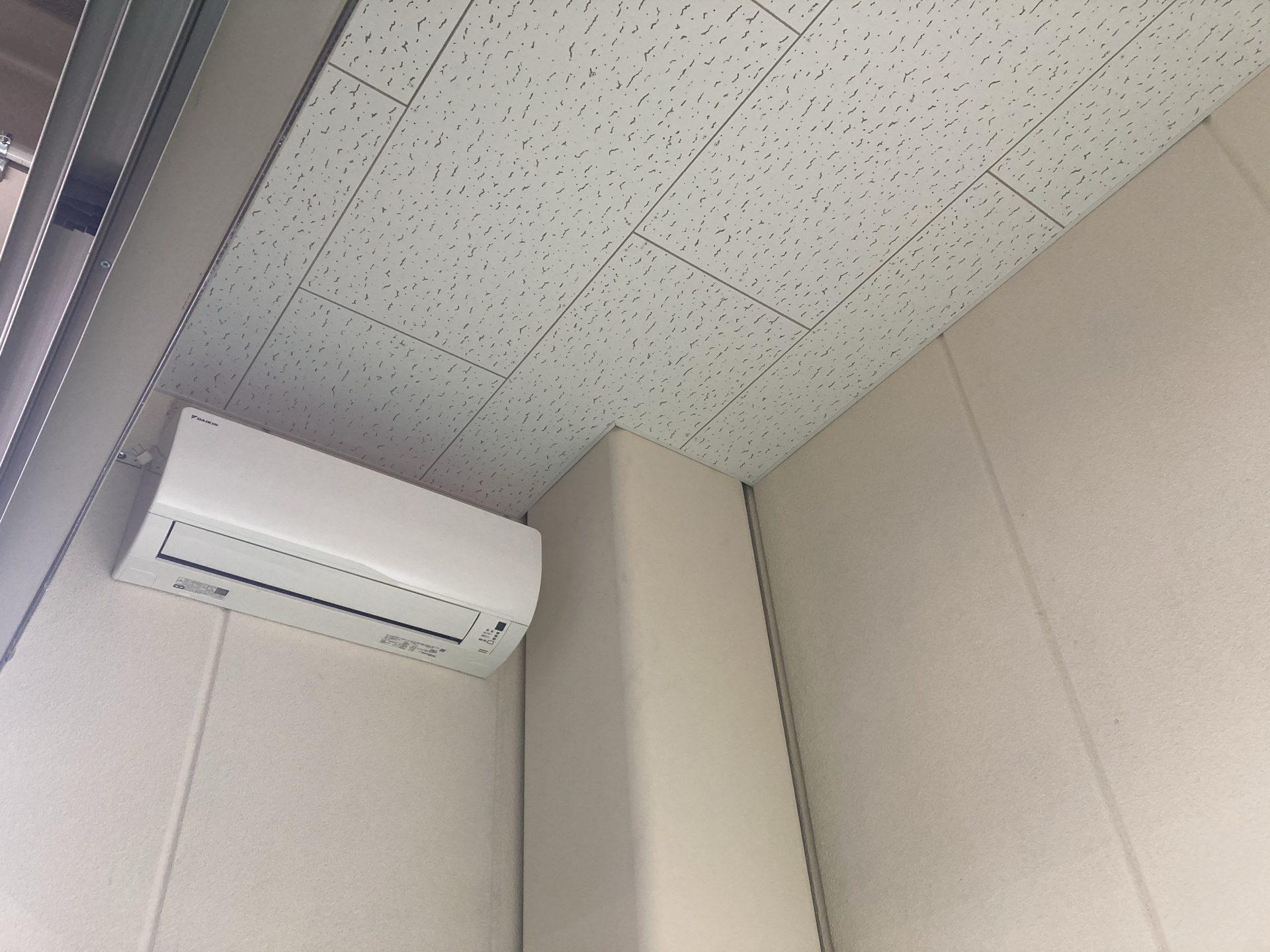 BCP対策も兼ねた天井造作工事