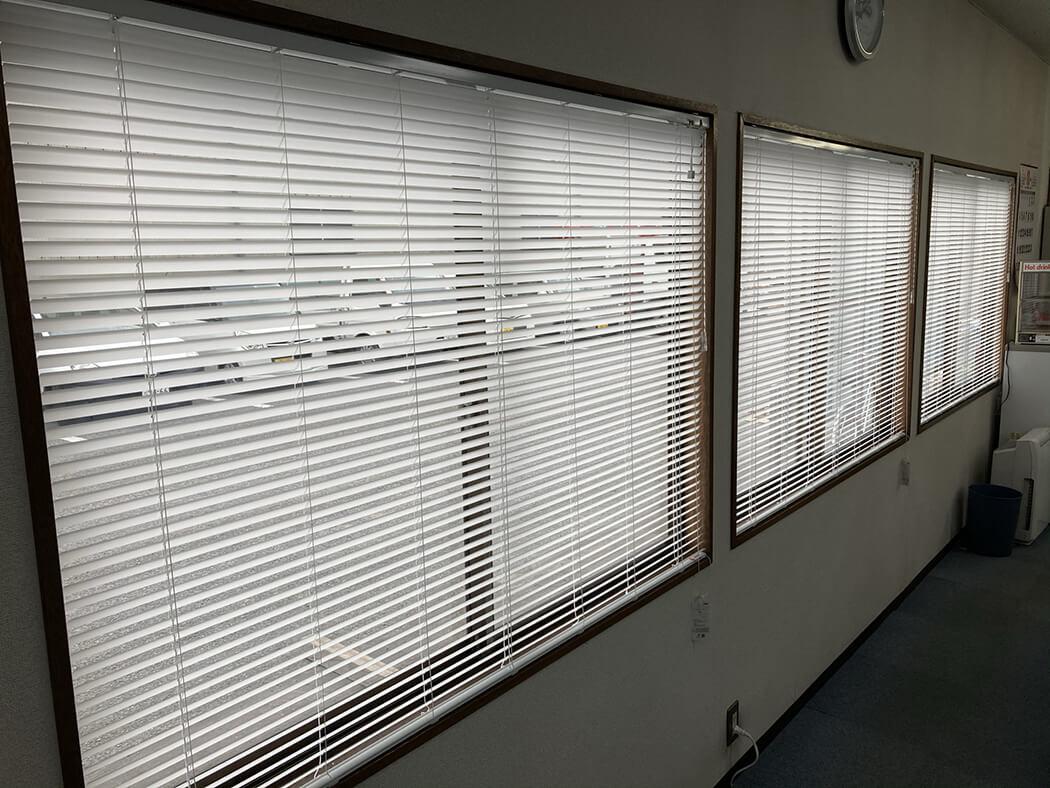オフィスがより明るくなる!?採光ブラインド